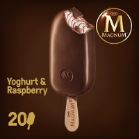 Magnum Yoghurt & Raspberry Eis am Stiel 100 ml -