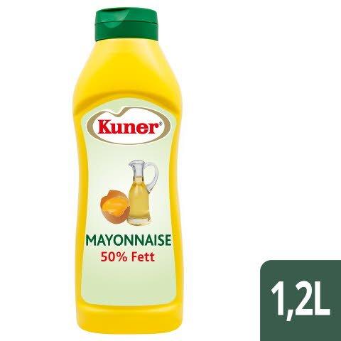 Kuner Mayonnaise 50% Fett 1,2L