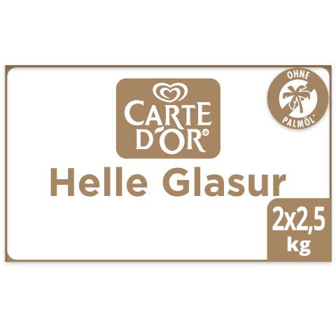 Carte D'Or Helle Glasur Palmölfrei