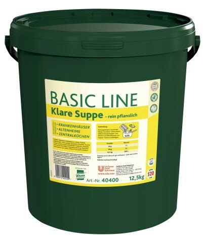 Basic Line Klare Suppe rein pflanzlich 12,5 KG