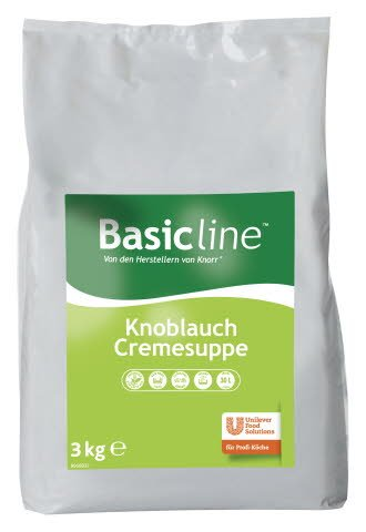 Basic Line Knoblauch Cremesuppe 3 KG