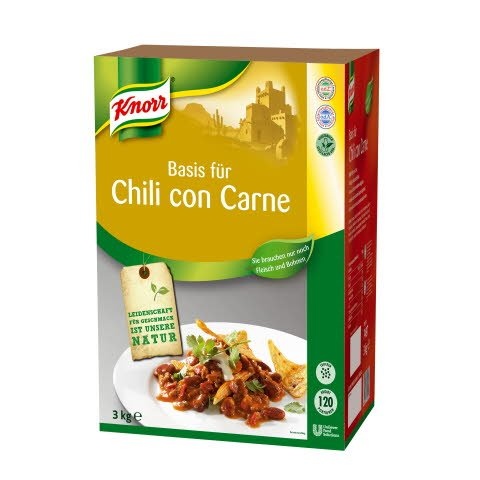 Knorr Basis für Chili con Carne 3 KG