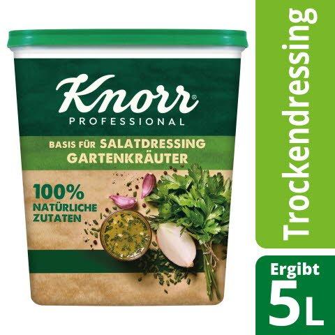 Knorr Basis für Salatdressing Gartenkräuter 100% natürliche Zutaten 500 g -