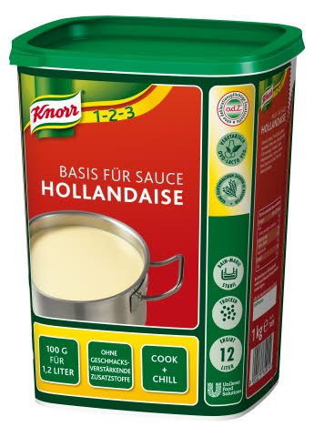 Knorr Basis für Sauce Hollandaise 1 KG