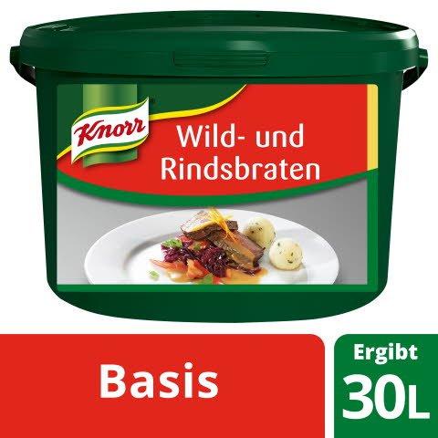 Knorr Basis für Wild- und Rindsbraten 2,5 KG
