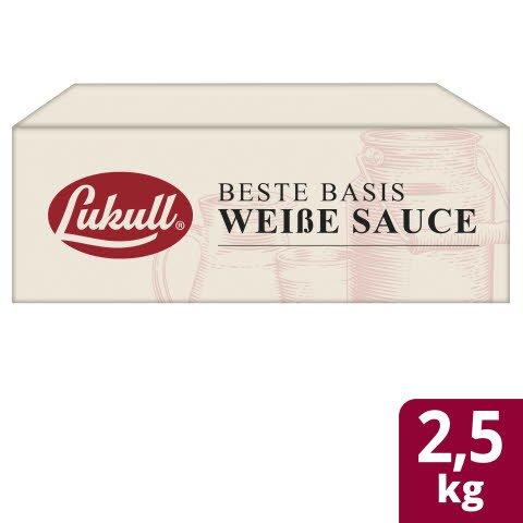 LUKULL Basis Weisse Sauce 2X2,5KG -