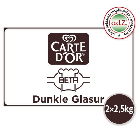 Carte D'or Dunkle Glasur 5 KG
