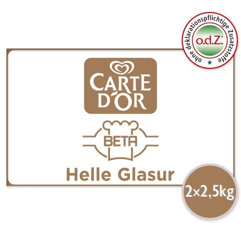Carte D'or Helle Glasur 5 KG