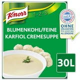 Knorr Blumenkohl/ Feine Karfiol Cremesuppe 1 x 2,7 KG