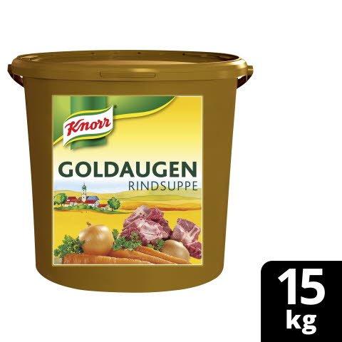 Knorr Goldaugen Rindsuppe 15 kg Eimer - KNORR Goldaugen Rindssuppe - das österreichische Original.