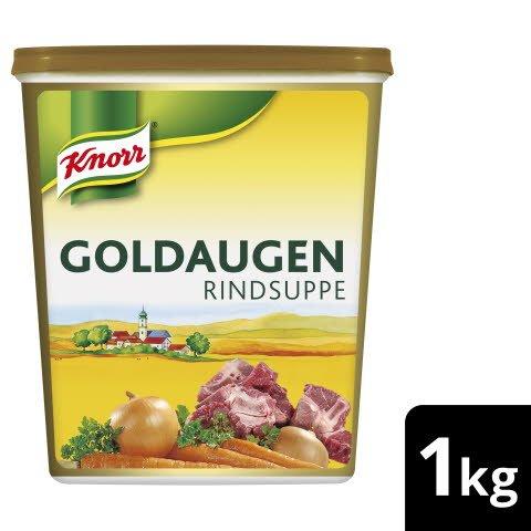 Knorr Goldaugen Rindsuppe 12 x 1 KG - KNORR Goldaugen Rindssuppe - das österreichische Original.