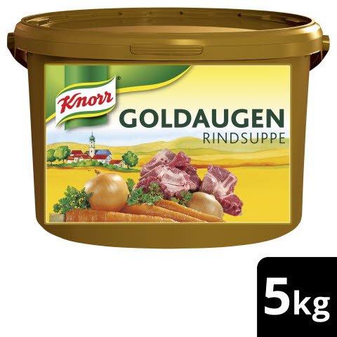 Knorr Goldaugen Rindsuppe 5kg Eimer - KNORR Goldaugen Rindssuppe - das österreichische Original.