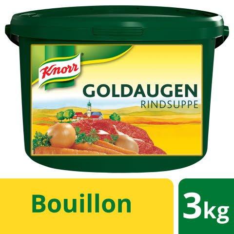 Knorr Goldaugen Rindsuppe 3 KG - KNORR Goldaugen Rindssuppe - das österreichische Original.