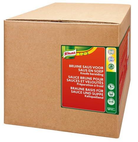 Knorr Braune Basis Sauce und Suppe Kaltquellend 3 KG -
