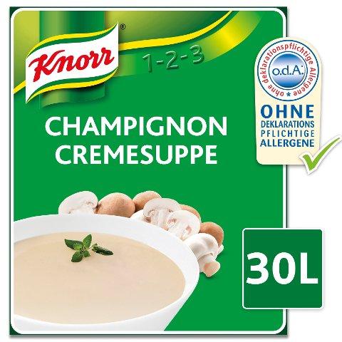 Knorr Champignon Cremesuppe 2.7 kg -
