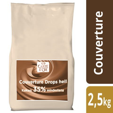 Carte D'or Couverture Drops hell 2,5 KG