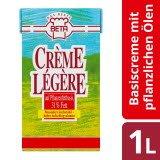 Beta Crème Légère - Basiscrème mit pflanzlichen Ölen 1 L - Mit Beta Crème Légère bleiben Desserts länger stabil.*