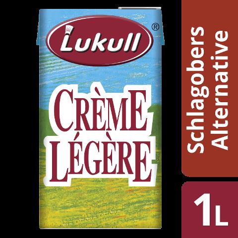 Lukull Crème Légère - Basiscrème mit pflanzlichen Ölen 1 L