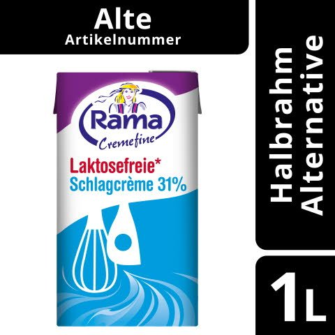 Rama Cremefine Laktosefreie Schlagcreme 1 L