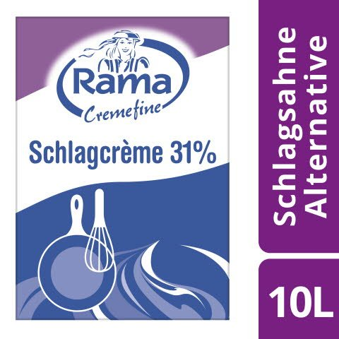 Rama Cremefine Schlagcreme 31% Fett 10l -