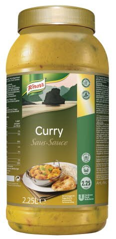 Knorr Curry Sauce 2,25 L