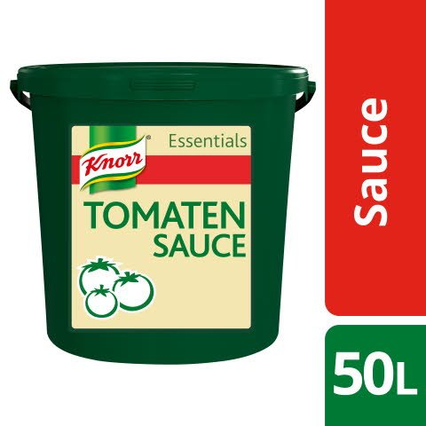 Knorr Essentials Clean Label Tomato Sauce (Tomaten Sauce) 7 KG