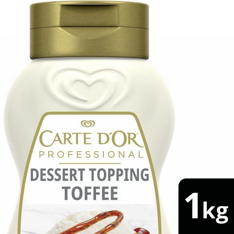 Carte D'or Dessert Topping Toffee 1 KG -