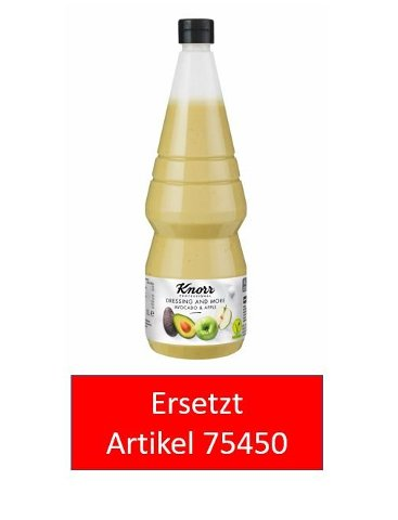 Knorr Dressing and More Apple & Avocado 1 L -