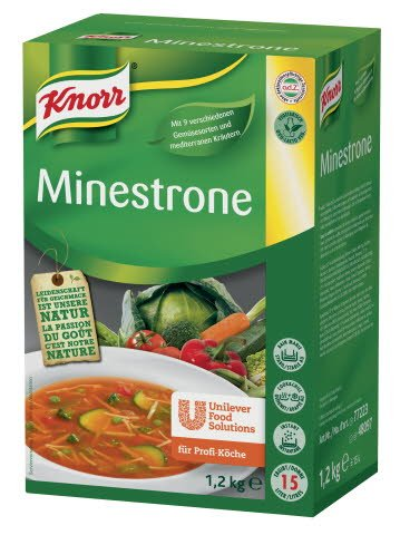 Knorr Minestrone 1,2 KG
