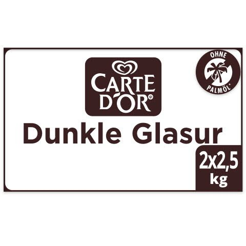 Carte D'Or Dunkle Glasur Palmölfrei -