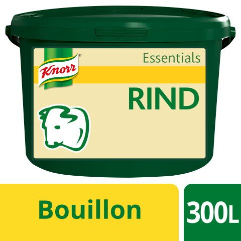 Knorr Essentials Clean Label Beef Bouillon (Rinder Bouillon) 3 KG