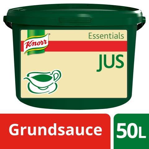 Knorr Essentials Clean Label Sauce Base Jus (Jus zu Braten) 3 kg -
