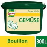 Knorr Essentials Clean Label Vegetable Bouillon (Gemüse Bouillon) 3 KG