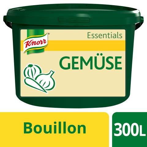 Knorr Essentials Clean Label Vegetable Bouillon (Gemüse Bouillon) 3 KG