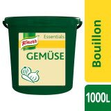 Knorr Essentials Clean Label Vegetable Bouillon (Gemüse Bouillon) 10 KG