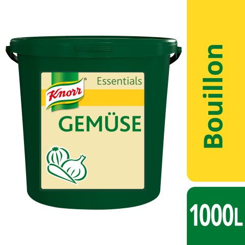 Knorr Essentials Clean Label Vegetable Bouillon (Gemüse Bouillon) 10 KG -