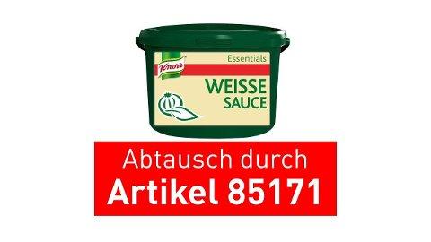 Knorr Essentials Clean Label White Sauce (Weisse Sauce) 4 KG -
