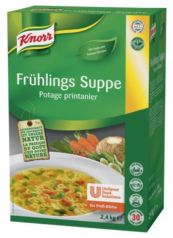Knorr Frühlings Suppe 2,4 KG