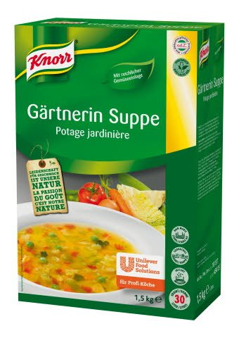 Knorr Gärtnerin Suppe 1,5 KG -