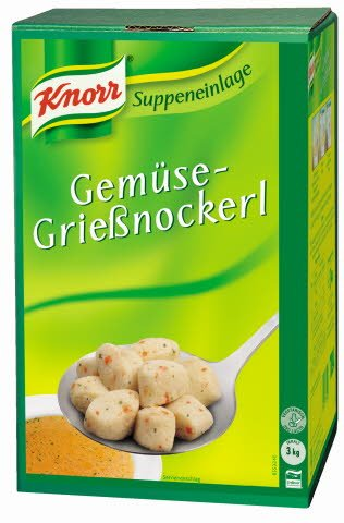Knorr Gemüse-Grießnockerl 3 KG