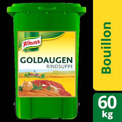 Goldaugen Rindsuppe 60 kg Rolleimer