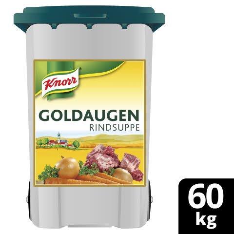 Goldaugen Rindsuppe 60 kg Rolleimer - KNORR Goldaugen Rindssuppe - das österreichische Original.