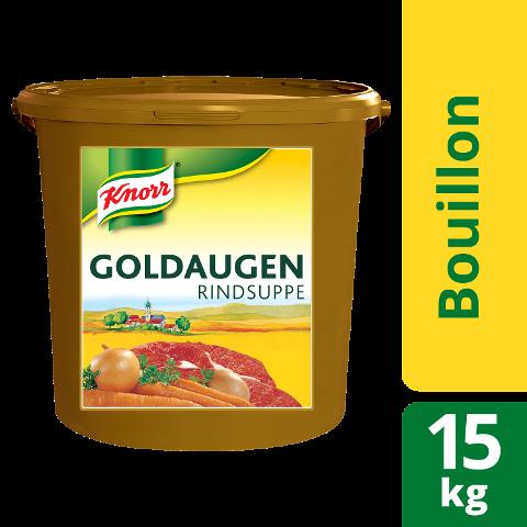 Knorr Goldaugen Rindsuppe 15 kg Eimer
