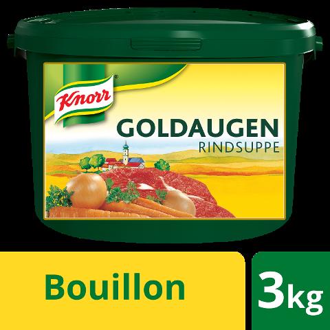 Knorr Goldaugen Rindsuppe 3 KG