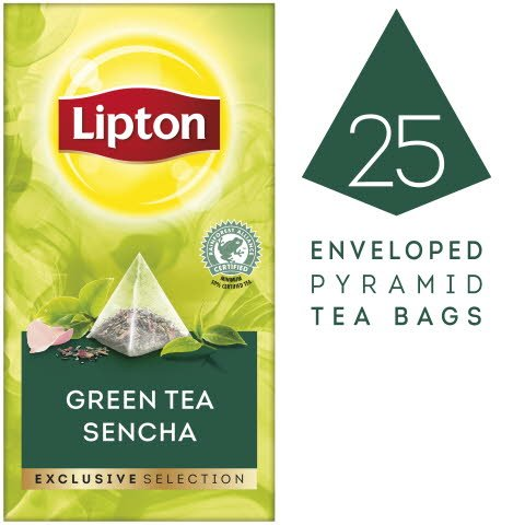 Lipton Grüner Tee Sencha Pyramid 30 Beutel -