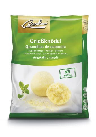 Caterline Grießknödel 1 KG (20 Stk. á ca. 50 g) -