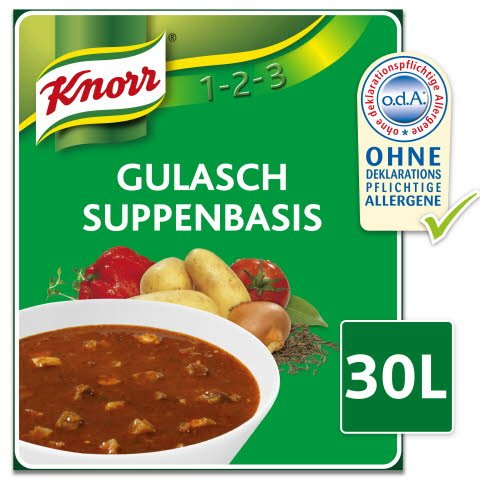 Knorr Gulasch Suppenbasis 2,8 KG -