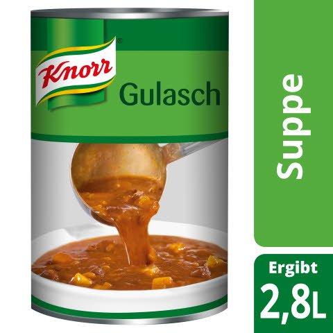 Knorr Meisterkessel Gulaschsuppe 2,9 KG