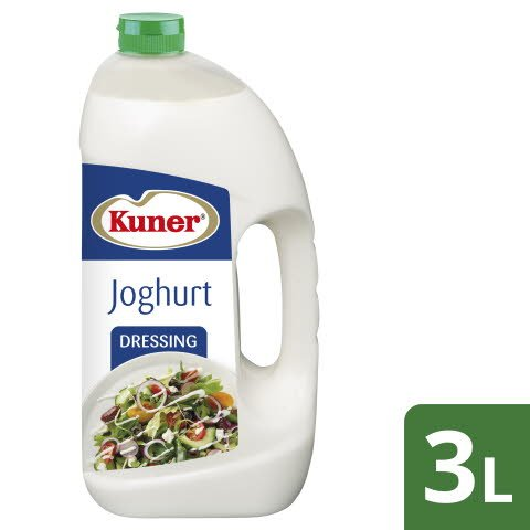 Kuner Joghurt Dressing 3 L - KUNER Joghurt Dressing. Mit vollem Joghurt Geschmack.