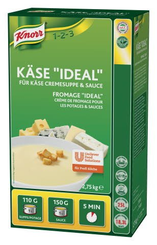 "Knorr Käse ""Ideal"" Cremesuppe für Suppe & Sauce 2,75 KG"